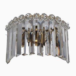 Lampada da parete grande Art Nouveau di Josef Hoffmann per Lobmeyr, anni '20