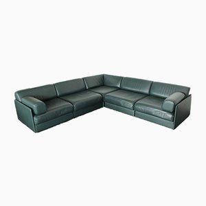 Leather DS-76 Sofa Daybed from de Sede, 1990s, Set of 5