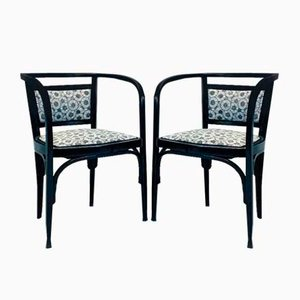 Antique No.6526 Armchairs by Otto Wagner for Thonet, 1910s, Set of 2