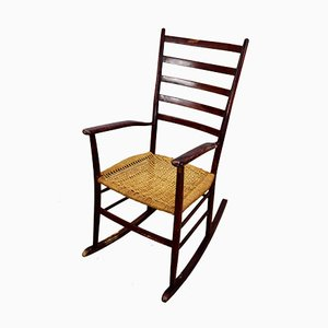 Rocking Chair Style Paolo Buffa, Italie, 1940s