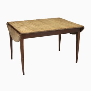 Antique Drop-Leaf Dining Table
