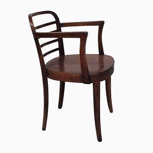 Mid-Century Modern Italian Walnut Dining Chair from Belotti Brothers, 1950s