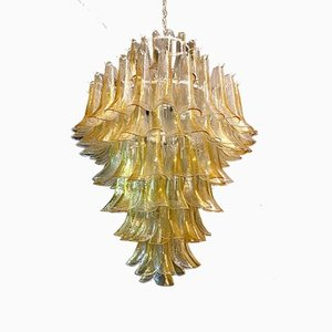 Large Vintage Chandelier from Mazzega, 1980s