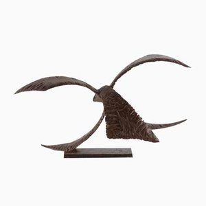 Dekorative Skulptur aus Eisen, 1970er