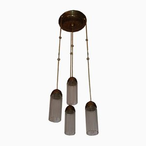 Antike Jugendstil Deckenlampe von Josef Hoffmann