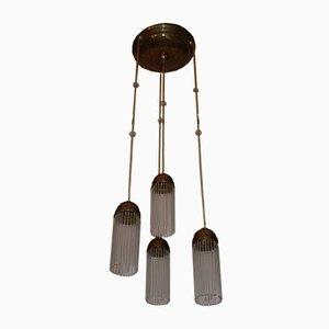 Lampada da soffitto Art Nouveau antica di Josef Hoffmann