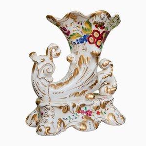Vasi Rython in porcellana policroma, XIX secolo, set di 2