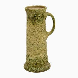 Große glasierte Vintage Kanne oder Vase aus Keramik, 1950er