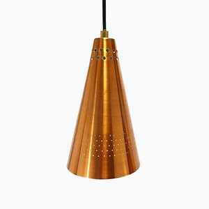 Lampe à Suspension Mid-Century en Cuivre par Hans-Agne Jakobsson pour Hans-Agne Jakobsson AB Markaryd, 1950s