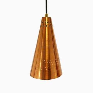 Mid-Century Copper Pendant Lamp by Hans-Agne Jakobsson for Hans-Agne Jakobsson AB Markaryd, 1950s