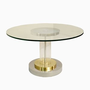 Vintage Dining Table by Romeo Rega, Italy, 1970s