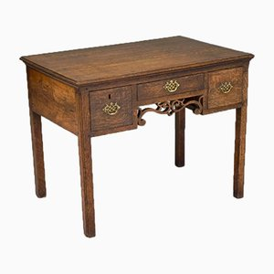 Oak Side Table, 1750s