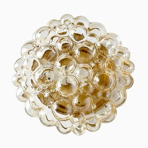 Amber Wall Light by Helena Tynell for Limburg, 1960s