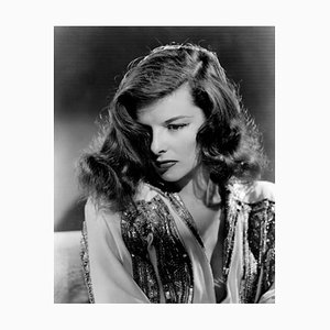 Katharine Hepburn the Philadelphia Story Archival Pigment Print Framed in White by Everett Collection