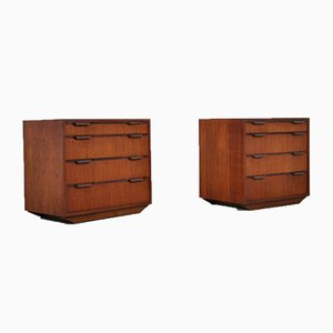 Pair of Danish Sideboards, 1970s, Set of 2