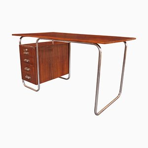 Schreibtisch aus Stahlrohr, 1930er