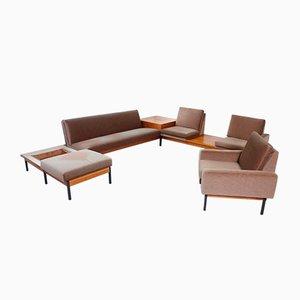 Large Mid-Century Living Room Set, 1960s, Set of 2