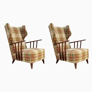 Mid-Century Armchairs by Ico Luisa Parisi, 1950s, Set of 2