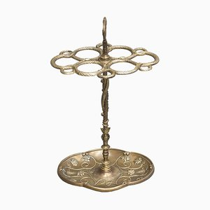 Art Nouveau Bronze Umbrella Rack, 1920s