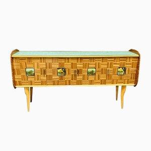 Mid-Century Italian Rosewood Sideboard, 1950s