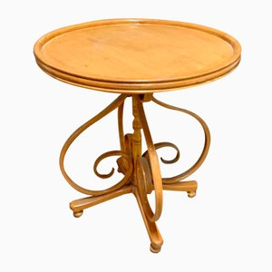 Small Antique Bistro Table by Michael Thonet for Gebrüder Thonet Vienna GmbH
