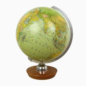 German Illuminated Globe from JRO Verlag, 1940s