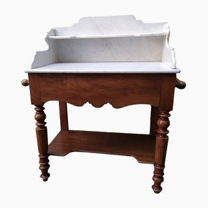 Antique Marble Toilet Table