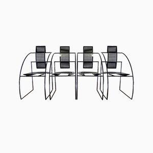 Quinta Dining Chairs by Mario Botta for Alias, 1986, Set of 4