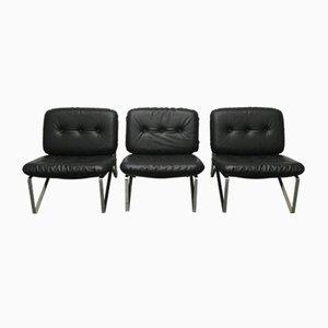 Deutscher Mid-Century Sessel von Hartmut Lohmeyer für Mauser Werke Waldeck, 3er Set