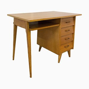 Mid-Century French Compass Writing Desk, 1950s