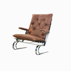 Leather Lounge Chair from Cor, 1960s