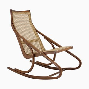 Bentwood Rocking Chair by Antonín Šuman, Czechoslovakia, 1960s