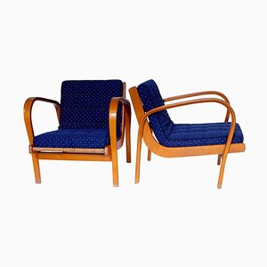 Armchairs by Karel Kozelka & Antonin Kropacek, 1946, Set of 2