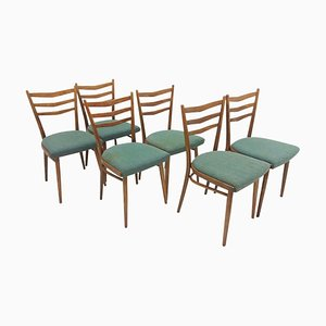 Dining Chairs by Jindrich Halabala for UP Závody, 1960s, Set of 6