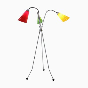 Mid-Century Adjustable Floor Lamp from Lidokov, 1960s