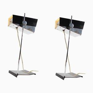 Verstellbare Tischlampen von Josef Hurka für Napako, 1960er, 2er Set