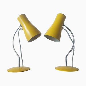 Mid-Century Table Lamps by Josef Hurka for Napako, 1970s, Set of 2