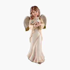 Large Angel in Porcelain from Goebel, West Germany, 1970s