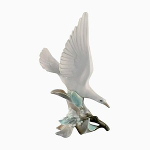 Large Porcelain Bird Figurine from Lladro, Spain, 1980s