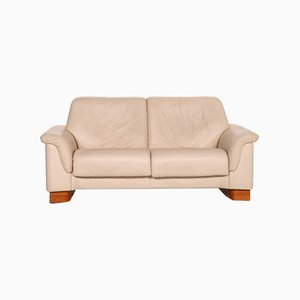 Cream Leather Paradise Sofa from Stressless