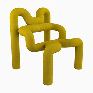 Yellow Armchair by Terje Ekstrom, Norway, 1980s