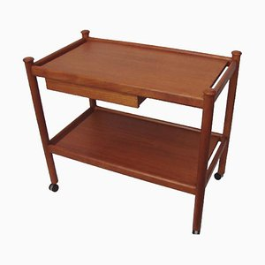 Teak Trolley Table, 1960s
