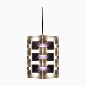 Geometric Table Lamp by J.J.M Hoogervorst for Anvia, 1960s