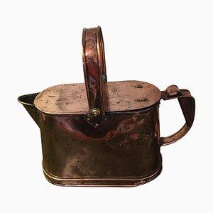 Antike viktorianische Kupfer Gießkanne