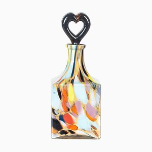 Vintage Murano Multi-Colored Bottle, 1970s