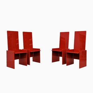 Kazuki Dining Chairs by Kazuhide Takahama for Simon, 1970s, Set of 4