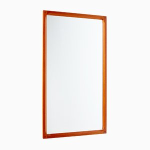 Vintage Teak Framed No. 166 Mirror by Aksel Kjersgaard for Odder Møbler, 1960s