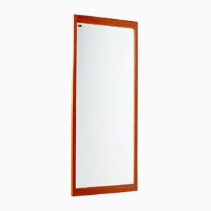 Vintage Teak Framed Mirror from A.M. Spejle Silkeborg, 1960s