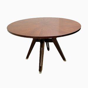 Table de Salle à Manger Ronde par Ico Parisi pour MIM Roma, Italie, 1958