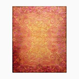 Italian Floral Carpet, 1960s